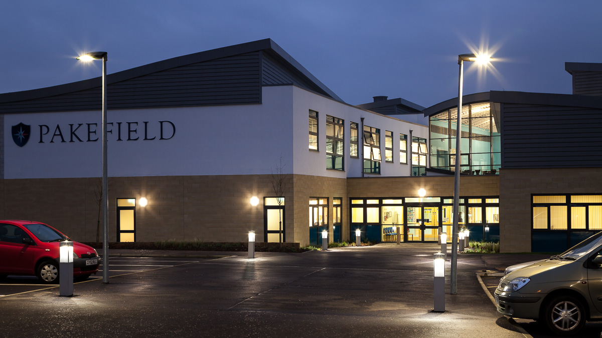 Pakefield School Suffolk architectural photograph